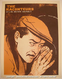 2006 The Raconteurs - Grand Prairie Concert Poster by Rob Jones
