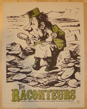 2006 The Raconteurs - Seattle Concert Poster by Rob Jones
