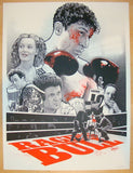 "2013 ""Raging Bull"" - Silkscreen Movie Poster by Joshua Budich"