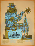 2011 Ray LaMontagne - Tour I Concert Poster by Methane
