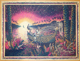 2014 Ray Lamontagne - San Diego Silkscreen Concert Poster by James Eads
