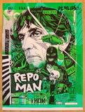 "2013 ""Repo Man"" - Silkscreen Movie Poster by Tyler Stout"