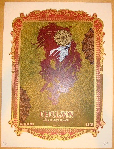"2011 ""Repulsion"" - Silkscreen Movie Poster by David O'Daniel"