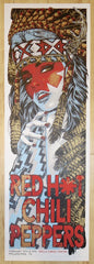 2017 Red Hot Chili Peppers - Philadelphia Silkscreen Concert Poster by Rhys Cooper