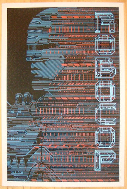 "2012 ""Robocop"" - Silkscreen Movie Poster by Todd Slater"