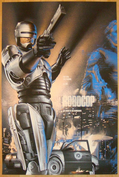 "2014 ""Robocop"" - Variant Movie Poster by Martin Ansin"