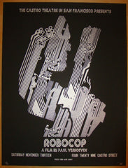 "2010 ""Robocop"" - Silkscreen Movie Poster by David O'Daniel"