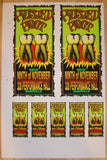 1995 Rusted Root Concert Proof Sheet by Mark Arminski (MA-054)