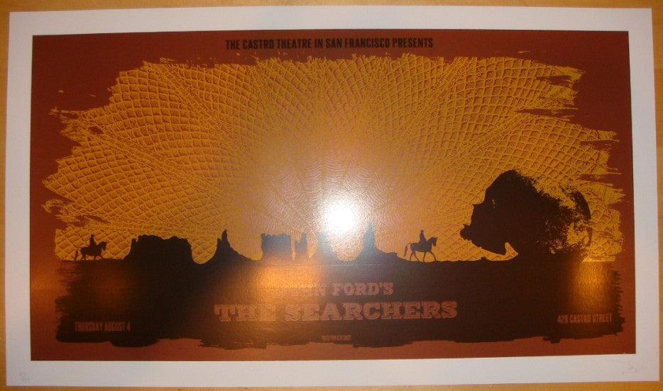 "2011 ""The Searchers"" - Silkscreen Movie Poster by David O'Daniel"
