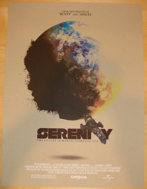 "2011 ""Serenity"" - Silkscreen Movie Poster by Jay Shaw"