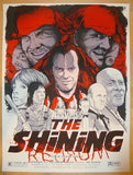 "2012 ""The Shining"" - Silkscreen Movie Poster by Joshua Budich"