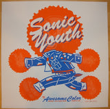 2009 Sonic Youth - Silkscreen Concert Poster by Guy Burwell