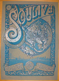 2012 Soulive - San Francisco Concert Poster by David Welker