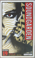 2013 Soundgarden - London II Silkscreen Concert Poster by Adam Pobiak