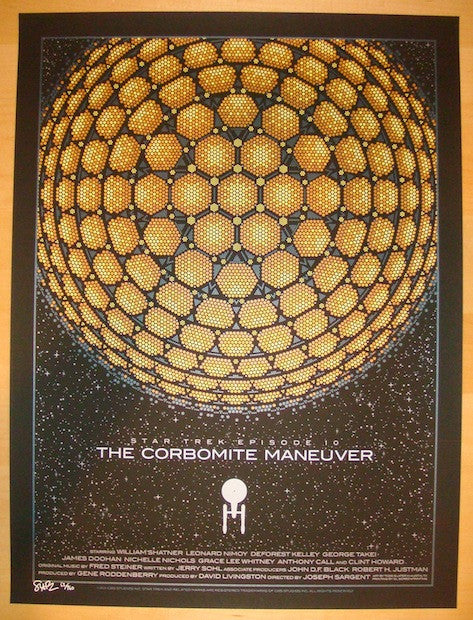 "2012 ""Star Trek"" - Episode 10 Silkscreen Poster by Todd Slater"