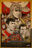 "2012 ""Star Trek II: The Wrath of Khan"" - Poster by Tyler Stout"