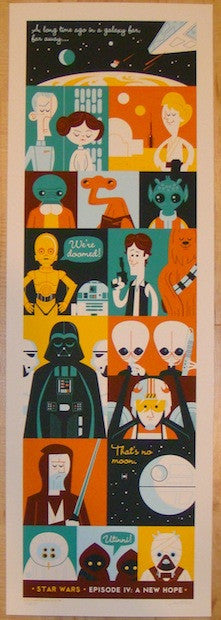 "2013 ""Star Wars"" - Silkscreen Movie Poster by Dave Perillo"