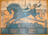2013 St. Paul & The Broken Bones - Fall Tour Poster by Status