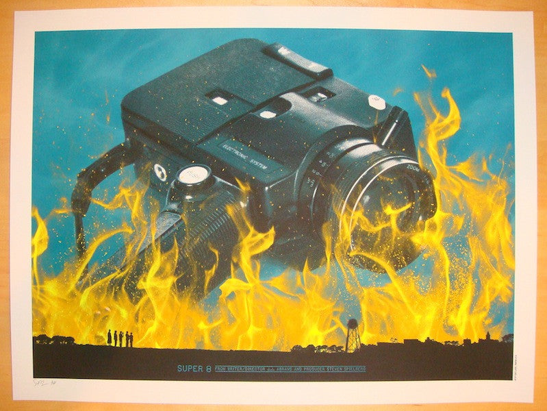 "2013 ""Super 8"" - Silkscreen Movie Poster by Todd Slater"