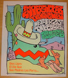 2004 The Supersuckers - Silkscreen Concert Poster by Frank Kozik