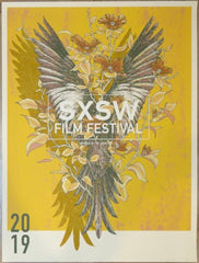 2019 SXSW Film Festival - Silkscreen Movie Poster by Erica Williams