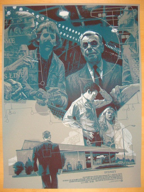 "2013 ""Sydney"" - Silkscreen Movie Poster by Rich Kelly"