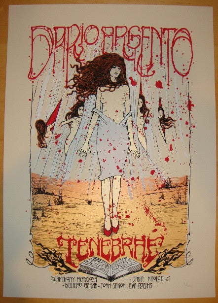 "2012 ""Tenebrae"" - Silkscreen Movie Poster by Malleus"
