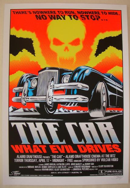 "2008 ""The Car"" - Silkscreen Movie Poster by Stainboy"