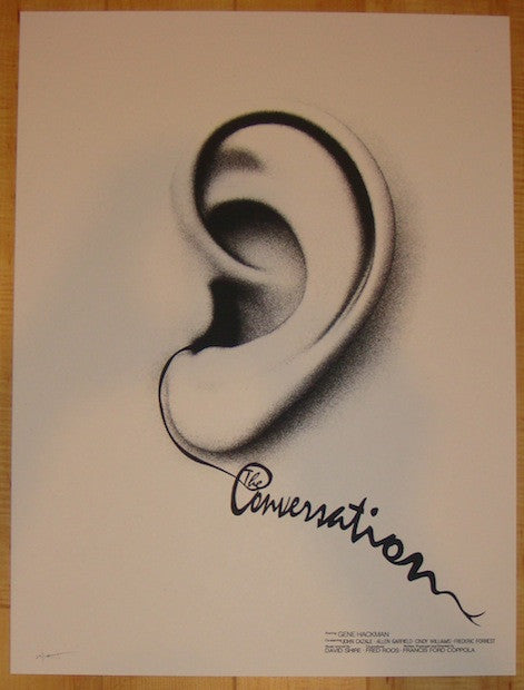 "2012 ""The Conversation"" - Silkscreen Movie Poster by Jay Shaw"