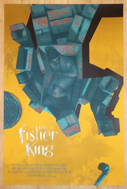 "2014 ""The Fisher King"" - Movie Poster by Sterling Hundley"