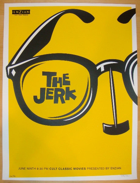 "2009 ""The Jerk"" - Silkscreen Movie Poster by Lure Design"