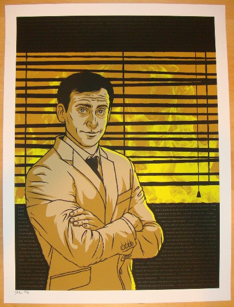 "2012 ""The Office"" - Silkscreen Art Print by Todd Slater"
