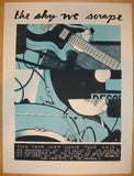 2012 The Sky We Scrape - Tour Poster by Justin Santora