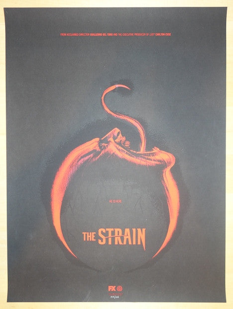 "2014 ""The Strain"" - Version I Movie Poster by Phantom City"