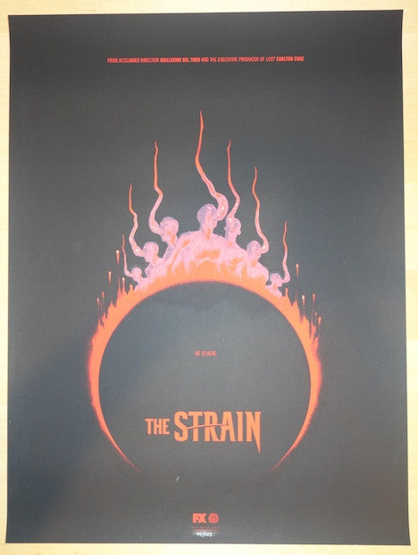 "2014 ""The Strain"" - Version II Movie Poster by Phantom City"