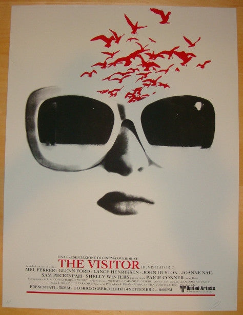 "2011 ""The Visitor"" - Silkscreen Movie Poster by Jay Shaw"