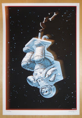 2007 The Bathroom Suite - Asstronaut/Rockin' Uranus Silkscreen Handbill By Emek