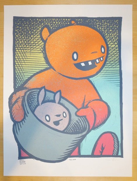 2014 Tub Chum - Silkscreen Art Print by Jay Ryan