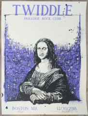 2018 Twiddle - Boston Silkscreen Concert Poster by Joey Feldman