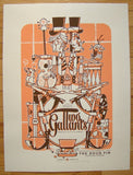 2006 Two Gallants - Silkscreen Concert Poster by Guy Burwell