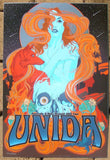 2013 Unida - Australia & NZ Tour Poster by Vance Kelly