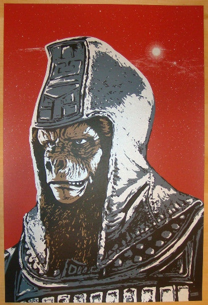 "2009 ""Ursus Major"" - Silkscreen Art Print by Billy Perkins"