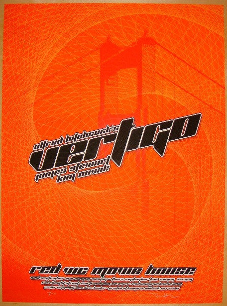 "2010 ""Vertigo"" - Silkscreen Movie Poster by Hunter & Firehouse"