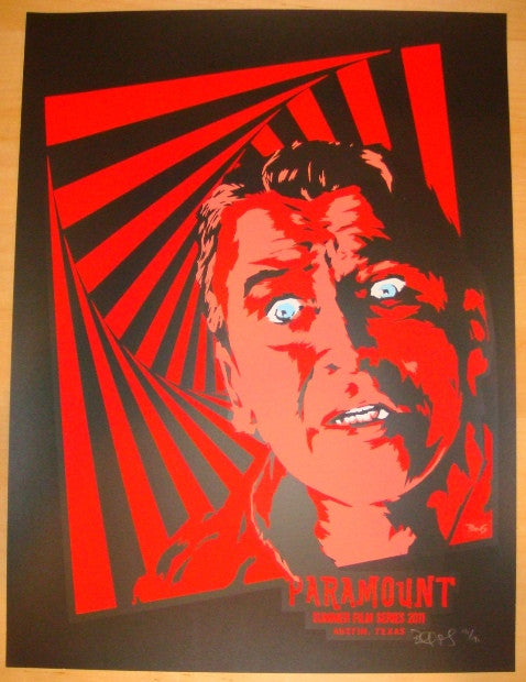 "2011 ""Vertigo"" - Silkscreen Movie Poster by Billy Perkins"