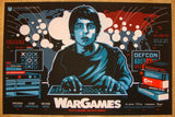 "2013 ""War Games"" - Silkscreen Movie Poster by James White"