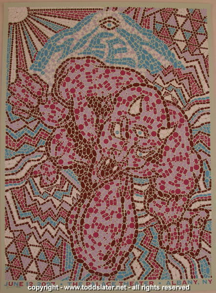 2007 Ween - Albany Silkscreen Concert Poster by Todd Slater