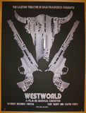 "2010 ""Westworld"" - Silkscreen Movie Poster by David O'Daniel"