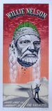 2006 Willie Nelson - Orange Variant Concert Poster by Emek