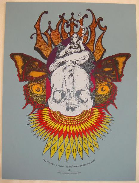 2008 Witch & Earthless - Silkscreen Concert Poster by D'Andrea