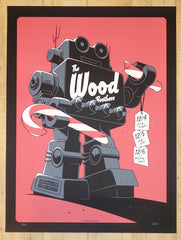 2015 The Wood Brothers - Nashville Silkscreen Concert Poster by Charles Crisler